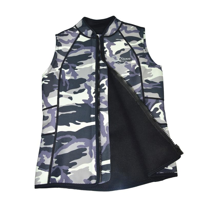 3mm Neoprene Wetsuit Vest Sleeveless Jacket for Spearfishing Underwater Hunting Surfing Scuba Diving K1601C<br><br>Aliexpress
