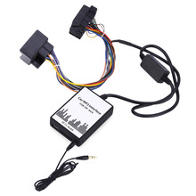 Car MP3 Interface DC 12V USB SD Data Speaker Cable AUX Adapter 40 PIN Audio Digital CD Changer for BMW(China)