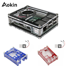 Case Acrylic-Box Raspberry Pi Cooling-Fan for Hot 3b/High-quality/Whosale/.. with 3-Model-B-Case