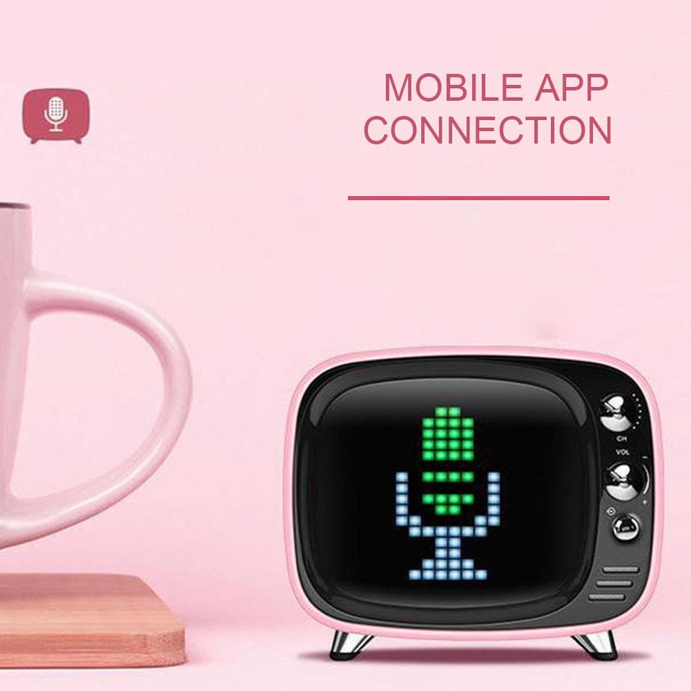 Wireless Bluetooth Mini Alarm Clock 5