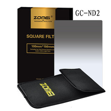 "Zomei Gradual grey ND2 Square Z-PRO Series Filter for Cokin Z zomei Hitech 4X6"" Holder 150*100 mm"