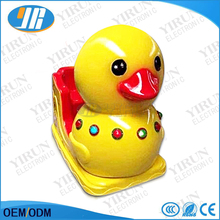 High Quality Fiber Glass Amusement Park Children Kids Coin Operated Game Machine Animal Music Duck Kiddie Rides(China)