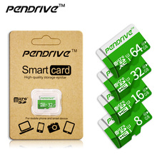 Pendrive Micro SD Card SDHC 16GB 32GB SD Card Class10 Memory SD Card 64GB 128GB SDXC Premium flash Card Flash for smart phone(China)