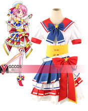 Reona West of Anime Pripara Cosplay Costume Custom Made Uniform