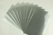 A3 size 50 pieces Matte Silver Inkjet Film for digital printing photos   sold by pieces