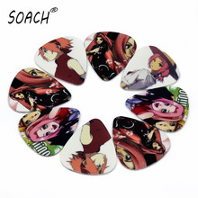 SOACH 50pcsFree shipping  nice beautiful Cartoon Naruto Sakura Guitar Picks Thickness 1.0mm