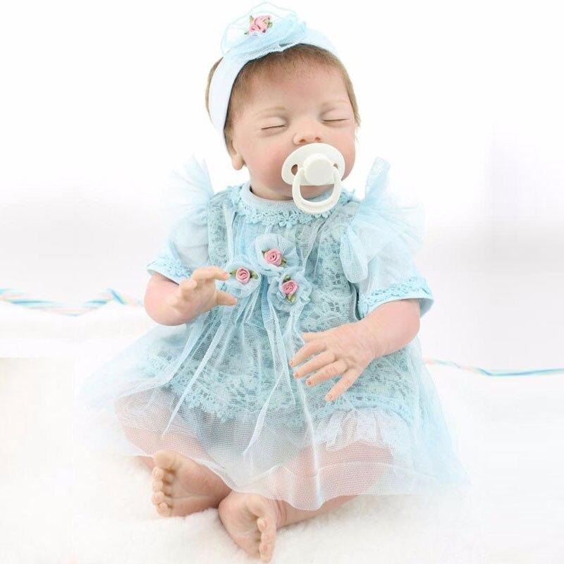 Simulation Baby Dolls 50cm Silicone Reborn Doll Toys BeBe Reborn Lifelike Newborn Bonecas Bebes Juguetes Babies Toys Brinquedos<br><br>Aliexpress