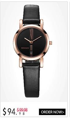 BINLUN Ladies White Ceramic Rectangle Watch Water Resistant Quartz Watches for Women White Dial
