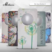 Mikoor Fashion Pattern PU Leather 5.0For Asus Zenfone 5 Case For Asus Zenfone 5 Cell Phone Case Cover M01