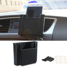 Cell Phone Holder Bag Car Storage Box For Audi A3 A4 B6 B8 B5 B7 A6 C5 C6 C7 TT Q5 Q7 Q3 A5 A8 A7 A1 A2 R8 8P 8V R8 RS S3 S4 S8