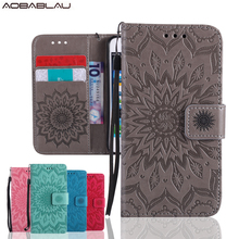 Coque Stand Wallet Cover For Samsung S3 Sunflower Flip PU Leather Case For Samsung Galaxy S3 III S3 i9300 9300 Phone Case Fundas