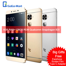 Letv LeEco Le Max 2 Mobile Phone Qualcomm Snapdragon 820 Quad Core 6GB+64GB 21MP 2K Screen 2560*1440 5.7 Inches Smartphone