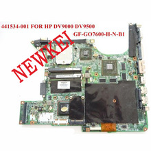 laptop motherboard for HP PAVILION DV9000 series 441534-001 A-M-D PM with NVIDIA GeForce Go 7600 DDR2 100% Test ok