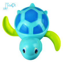 Newborn Cute Cartoon Animal Tortoise Baby Bath Toy Infant Swim Turtle Chain Clockwork Classic Toys Kid Educational Toys