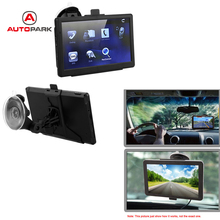 "7"" HD Car GPS Navigation Touch Screen Portable Car Navigator 128MB RAM 4GB FM Video Play +Free Map(China)"