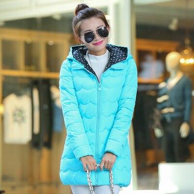 women new winter coat women medium length slim hooded jacket women casual outerwear elegant high end bubble sleeve parkasОдежда и ак�е��уары<br><br><br>Aliexpress