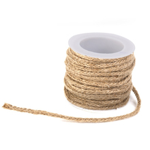 Easter 5M Natural Jute Twine for DIY Arts and Crafts / Industrial Packing Materials / Gardening Applications (Brown)