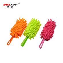 VOLTOP Small Car Cleaning Duster Washing Brush Home Office Mop Auto Clean Tools Multi Functional Feather Anti Static Wash Coral