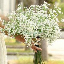 3pcs Elegant Artificial baby's breath Gypsophila White Home Room Office Decoration Wedding Party Decor Flor Artificial