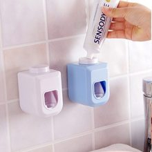 Hot Sale 1Piece Bathroom Tool Touch Automatic Auto Squeezer Toothpaste Dispenser Hands Free Squeeze Out Color Random(China)