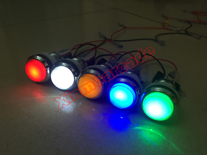 X LED Button 05
