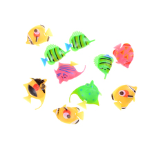 12pcs Marine Animals Assorted Ocean Pet Figures Party Toy Gift Small Size Sea Life Model Toys PVC Pool Fish Early Education Toy