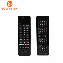 Rii i13 2.4G Mini Russian Wireless Keyboard Air Mouse Combos Mircophone Speaker IR Remote learning For Android tv box Mini PC