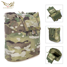 Flyye Folding Magazine Drop Pouch Recycling Bag Mag Dump Pouch Sundries Tactical Nylon Drop Pouch Airsoft Military Gear PK-M014