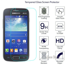 Tempered Glass Premium Screen Protector For Samsung Galaxy ACE 3 S7270 DUOS S7272 ACE3 Lite S7275 Protective Film(China)