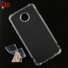 Soft TPU Silicone Rubber Transparent Shockproof Cover Case For Motorola Moto Z2 Play Phone Cases Skin Shell Fundas Coque(China)