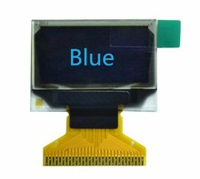 NoEnName_Null 0.96 inch 30PIN blue OLED LCD Screen SSD1306 Drive IC 12864 I2C Parallel Interface(China)