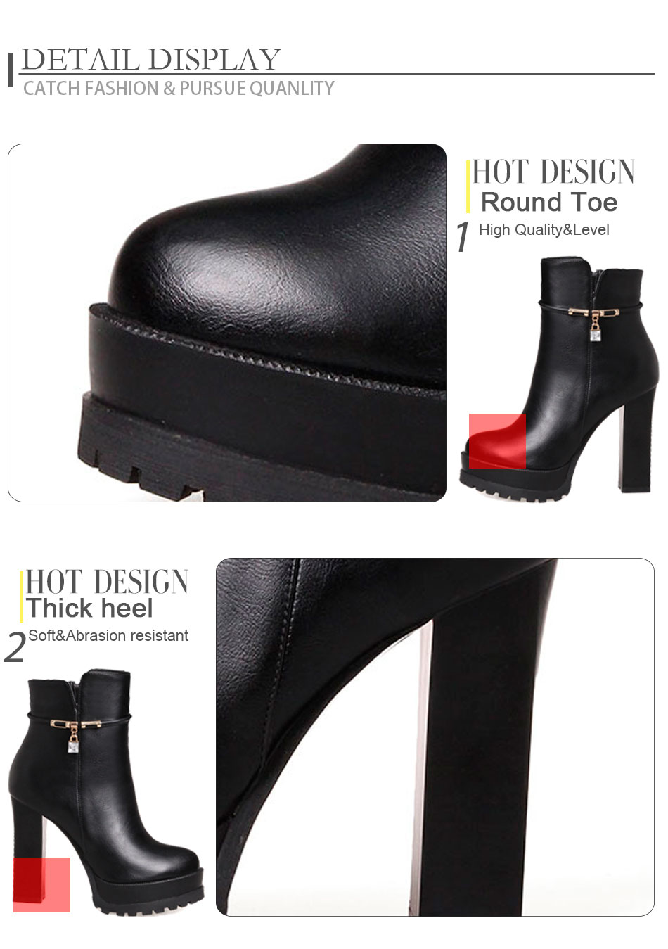 womens ankle boots,platform ankle boots