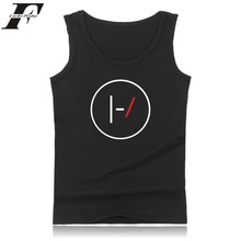 New Arrived Twenty One Pilots Logo Cotton Tank Top Summer Vest And Plus Size Twenty One Pilots Sleeveless Tank Tops Mens Clothes