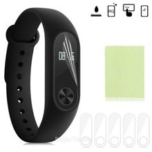 Buy Xiaomi Mi Band 2 Smart Wristband Bracelet 5pcs Glass Xiaomi Mi Band 2 Ultrathin Anti-explosion Screen Protector Film for $1.16 in AliExpress store