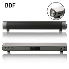BDF Mini Bluetooth Speaker Soundbar Slim Magnetic Stereo Sound Subwoofer Speaker HIFI Boombox Speaker For Computer PC Tablet TV