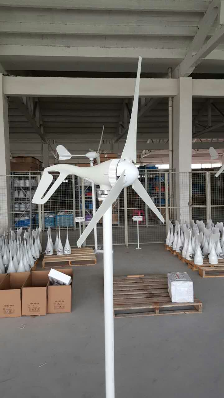S2 3 or 5 blades 12/24V wind generator 100W 200W 300W 400W Wind Power Generator small Nylon fiber without controller(China)