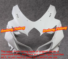 Unpainted Upper Front Fairing Cowl Nose Fits for Suzuki GSXR 600 750 2008 2009 2010 K8,