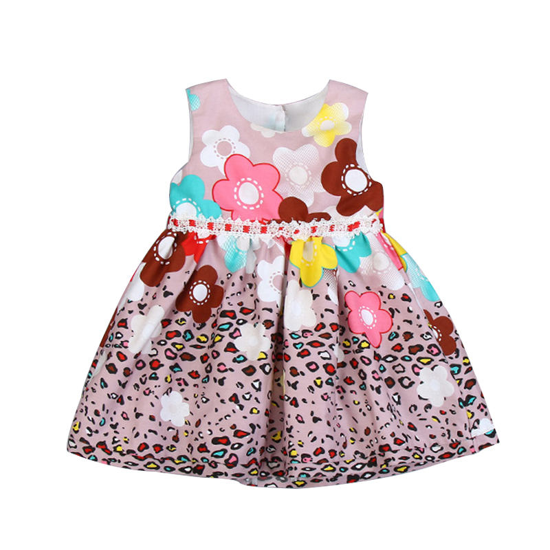 Summer Baby Girls Floral Dress Girl Costume Kids Cotton Princess Birthday Party Dresses Fashion Girls Dress for Wedding 2-7Yrs<br><br>Aliexpress
