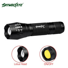 SKYWOLFEYE High Lumen Zoomable XM-L T6 LED Flashlight 3 Modes Portable 18650 Battery Mini Torch Focus Lamp For Cycling A609