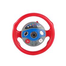 Creative Simulation Steering Wheel Electronic Backseat Driver Pretend Play Educational Toys for Children Kids with Light Music(China)