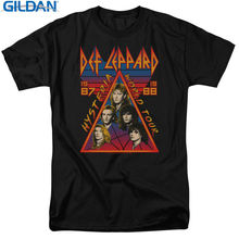 Unisex More Size And Colors Gildan New Style Crew Neck Def Leppard Tour 1987 Vintage Style Short-Sleeve Tee Shirt For Men