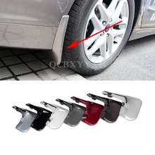 4pcs Car Styling ABS Mud Flap Splash Guard Mudguard Mudflap Fender Perfector External Decoration For Ford Mondeo 2013-2016