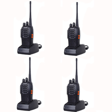 HOT 4PCS Walkie Talkie Pofung 888s Baofeng Bf-888s For Two Way Radio Station 400-470mhz Uhf Cb Radio Handheld Radio Transceiver