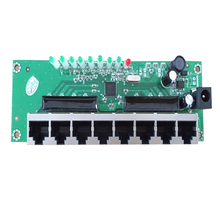 shenzhen network switches factory direct sell 8 port mini ethernet switch 8 rj45 switch hub mini size pcb board module