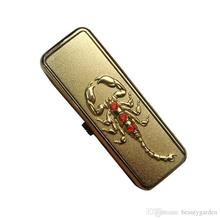 Personalized Scorpion USB Electronic Lighter Rechargeable Cigarette Cigar Windproof Lighter LL104