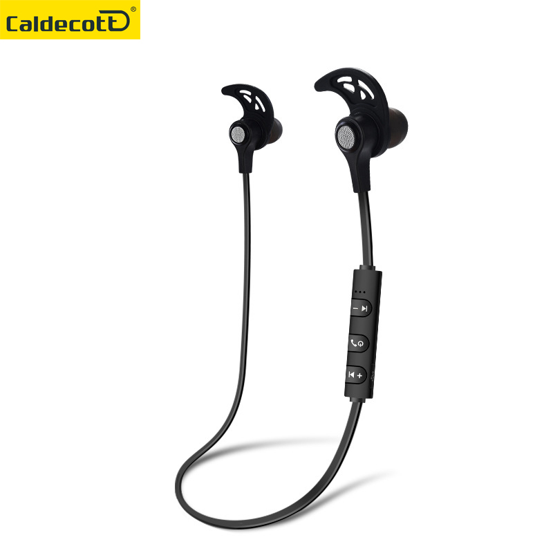 Wireless Earphone In-ear Headset Sport Running Music Bluetooth Earphone Metal Headset Wireless Earbuds Magnet speaker MIC