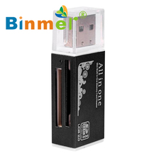 USB 2.0 All in 1 Multi Memory Card Reader For Micro SD SDHC TF M2 MMC Drop Shipping_KXL0626