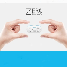 New 8Bitdo Zero Mini Wireless Bluetooth V2.1 Game Controller Gamepad Joystick Selfie Remote Shutter LED for Mac OS/iOS /Android(China)