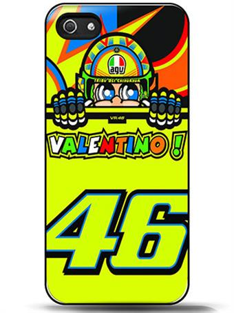 Toalla valentino rossi vr 46 Pattern Black Hard Plastic font b Case b font Cover For