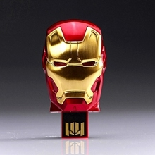 Cool Iron Man Usb Flash Drive 16gb 32gb 64gb 128gb 512gb Avengers Pendrive Cartoon Usb Memory Stick Pen Drive Disk On Key Gift